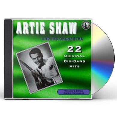 Artie Shaw PLAYS 22 ORIGINAL BIG BAND RECORDINGS CD