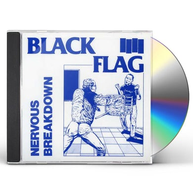 Black Flag NERVOUS BREAKDOWN CD