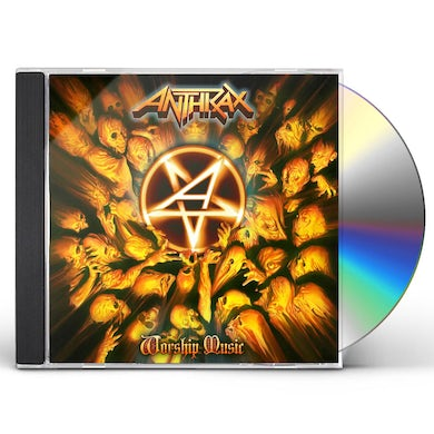 Anthrax WORSHIP MUSIC CD