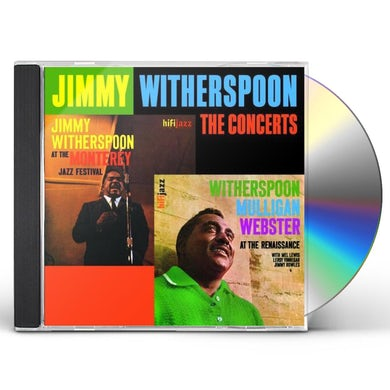 Jimmy Witherspoon SPOON CONCERTS CD