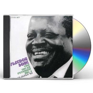 FREEDOM SONGBOOK OSCAR PETERSON BIG 4 IN JAPAN '82 CD