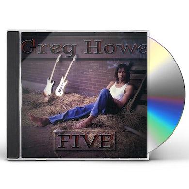 Greg Howe FIVE CD
