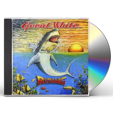 Great White RISING CD