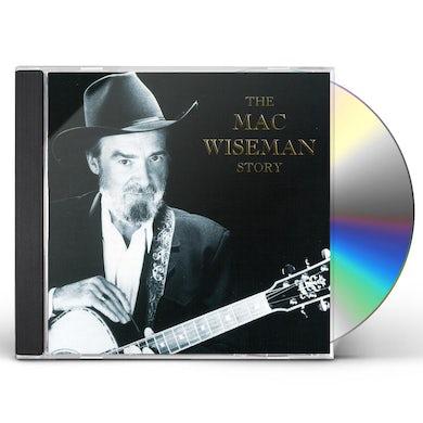 MAC WISEMAN STORY CD
