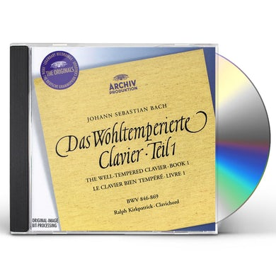 Keith Jarrett J.S. Bach: The Well-Tempered Clavier, Book I (2 CD) CD