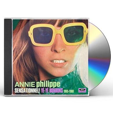 Annie Philippe SENSATIONNEL YE-YE BONBONS 1965-68 CD