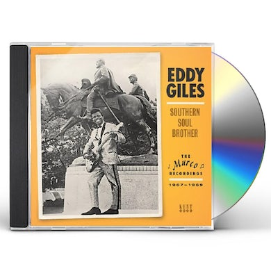 Eddie Giles SOUTHERN SOUL BROTHER CD