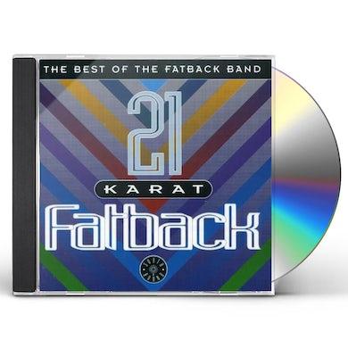 21 KARAT Fatback Band: BEST OF CD