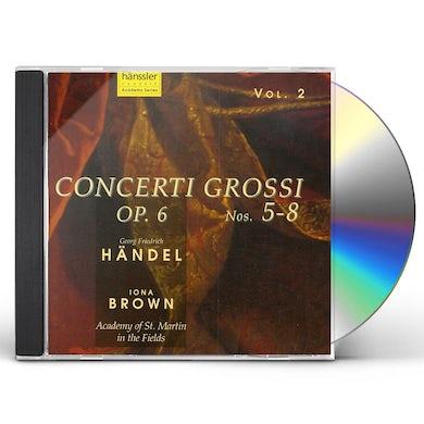 Handel CONCERTO GROSSI 5-8 CD