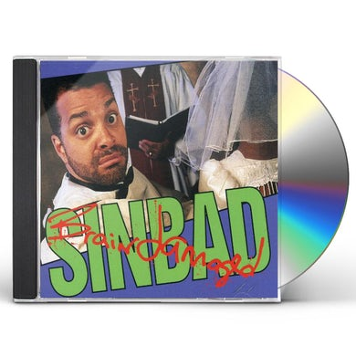 Sinbad BRAIN DAMAGED CD