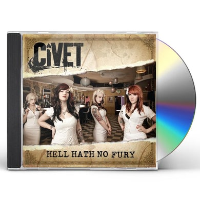 Civet HELL HATH NO FURY CD