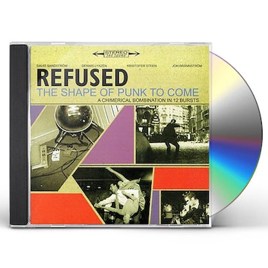 Refused SHAPE OF PUNK TO COME - CHIMERICAL BOMBINATION IN CD