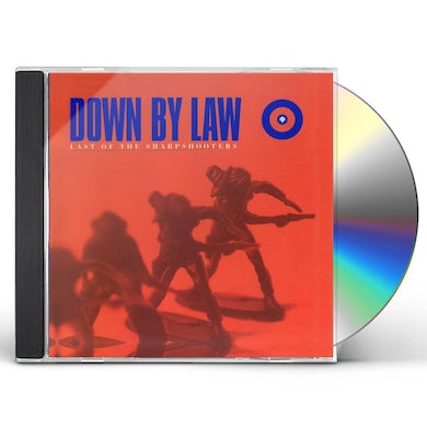 Down By Law LAST OF THE SHARPSHOOTERS (MOD) CD