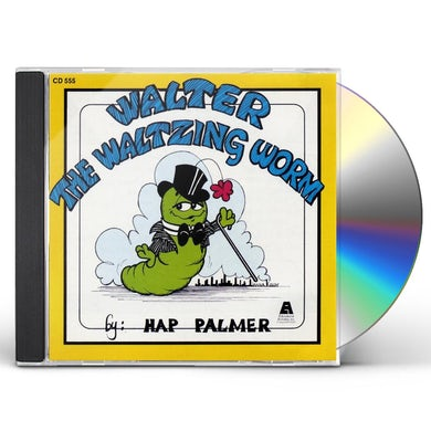 Hap Palmer WALTER THE WALTZING WORM CD