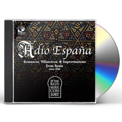 Baltimore Consort ADIO ESPANA: ROMANCES SONATAS & IMPROVISATIONS CD