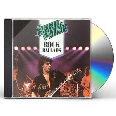 April Wine ROCK BALLADS CD
