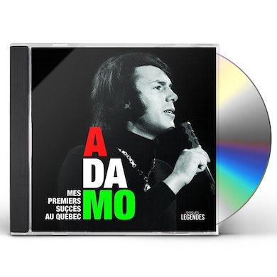 Adamo MES PREMIERS SUCCES AU QUEBEC CD