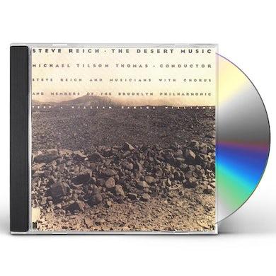 Steve Reich DESERT MUSIC CD