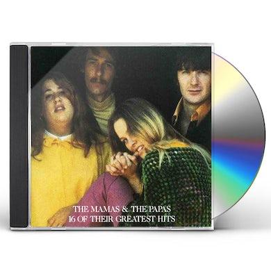 Mamas & Papas THEIR 16 GREATEST HITS CD