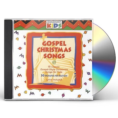 Cedarmont Kids GOSPEL CHRISTMAS SONGS CD