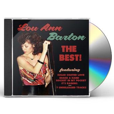 Lou Ann Barton BEST OF LOU BARTON CD