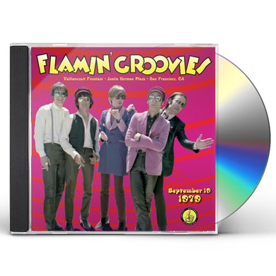 Flamin Groovies LIVE FROM THE VAILLANCOURT FOUNTAINS SEPTEMBER 19 CD