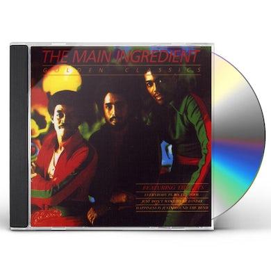 Main Ingredient GOLDEN CLASSICS CD