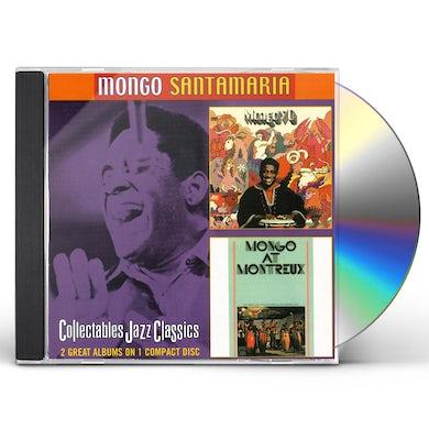 Mongo Santamaria MONGO 70: MONGO AT MONTREAX CD