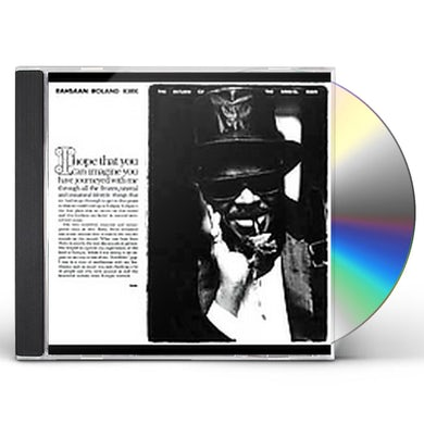 Rahsaan Roland Kirk RETURN OF THE 5000 LB MAN CD