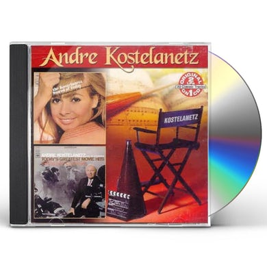 Andre Kostelanetz SOUNDS OF TODAY: TODAY'S GREATEST MOVIE HITS CD