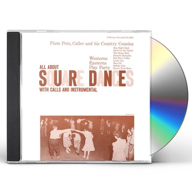 Piute Pete SQUARE DANCES CD