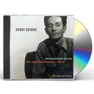 Woody Guthrie MULESKINNER BLUES: ASCH RECORDINGS 2 CD