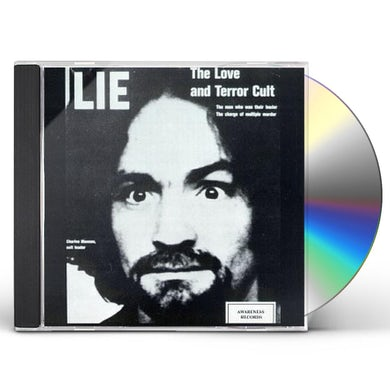 Charles Manson LOVE LIE & THE TERROR CULT CD