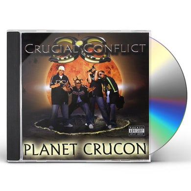 Crucial Conflict PLANET CRUCON CD
