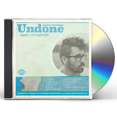 Sean Mcconnell UNDONE CD