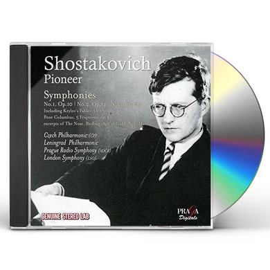 Shostakovich SYMPHONIES NO 1-3 CD