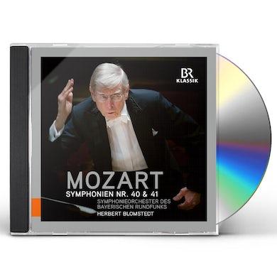 Wolfgang Amadeus Mozart SYMPHONIES 40 & 41 CD