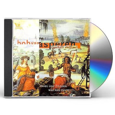 Bob Van Asperen WAR & PEACE CD