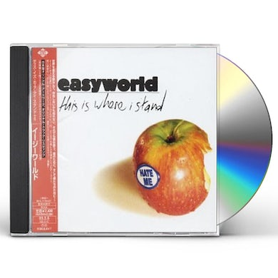 Easyworld THIS IS WHERE I STAND CD