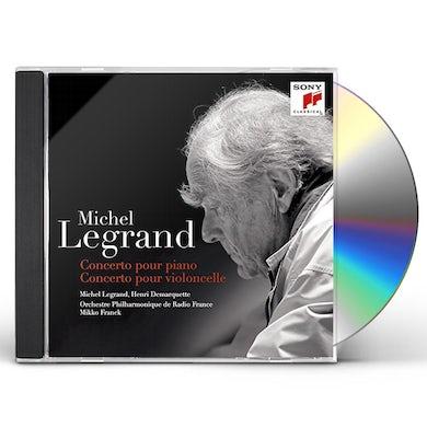 Michel Legrand CONCERTO POUR PIANO / CONCERTO POUR VIOL CD