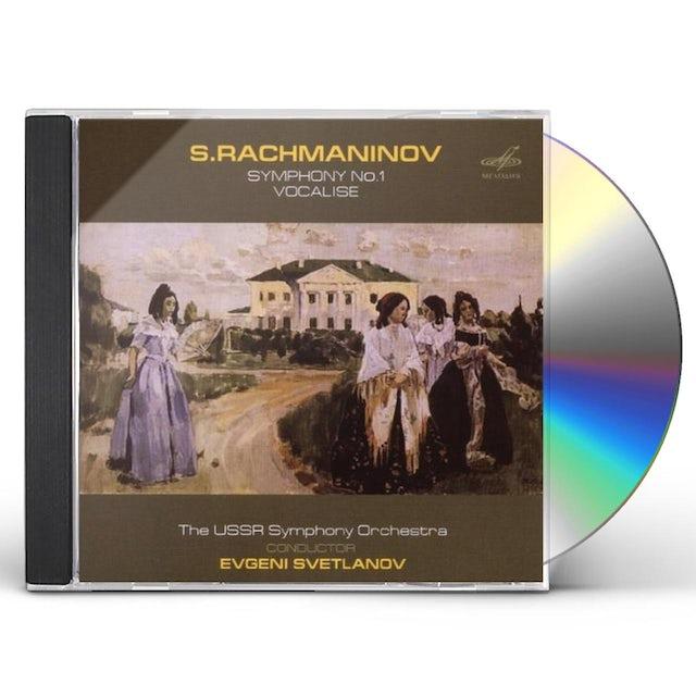 Rachmaninov SYM 1 / VOCALISE CD