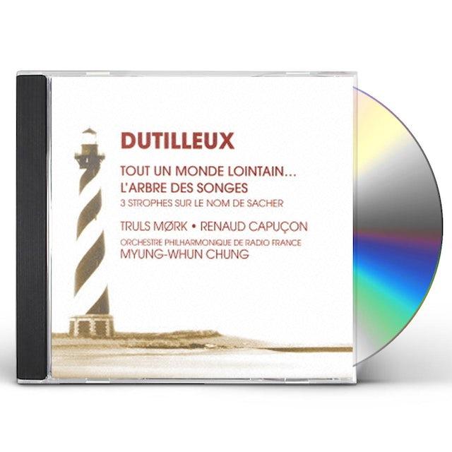 Renaud Capucon DUTILLEUX-CELLO & VIOLIN CONCERTOS CD