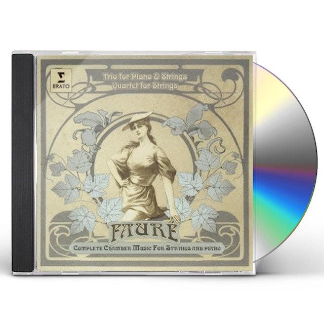 Renaud Capucon FAURE: PIANO TRIO & STRING QUARTET CD