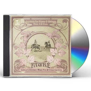 Quatuor Ebene FAURE: PIANO QUINTET NO. 1 & 2 CD