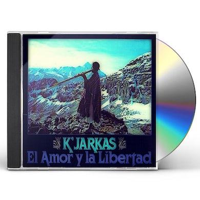 EL AMOR Y LA LIBERTAD CD