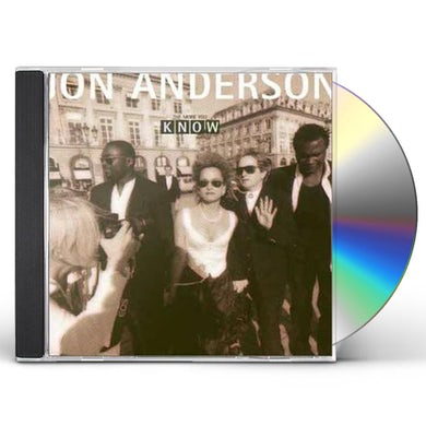 Jon Anderson MORE YOU KNOW CD