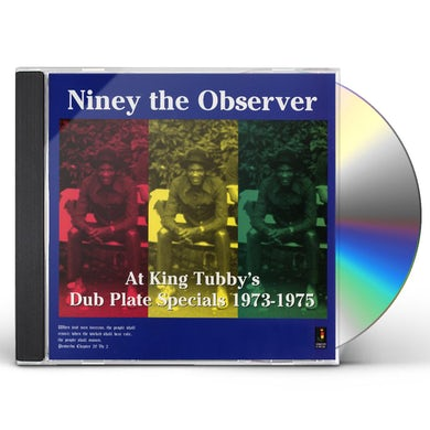 Niney The Observer AT KING TUBBY'S: DUB PLATE SPECIALS 1973-1975 CD