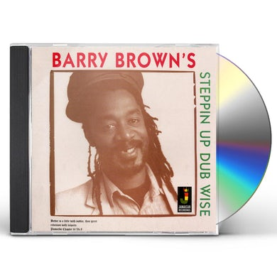 Barry Brown STEPPIN UP DUBWISE CD
