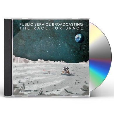 Public Service Broadcasting RACE FOR SPACE CD