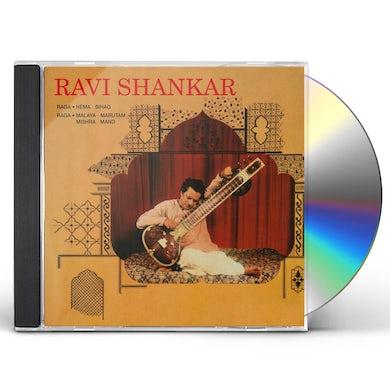 Ravi Shankar RAGA: HEMA-BIHAG / MALAYA MARUTAM / MISHRA-MAND CD